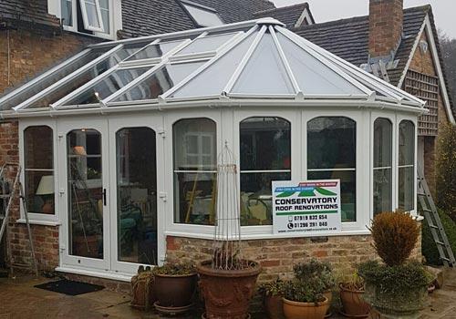 Aylesbury Glass Roof